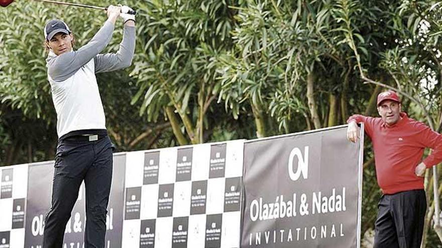 Golfistas de primer nivel jugarán en el Olazábal&Nadal el viernes y sábado