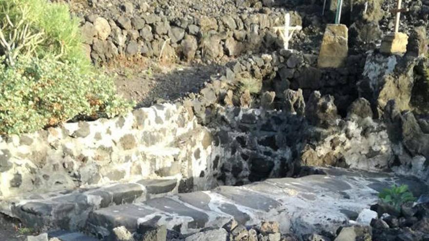 Análisis al agua curativa del Pozo de la Cruz