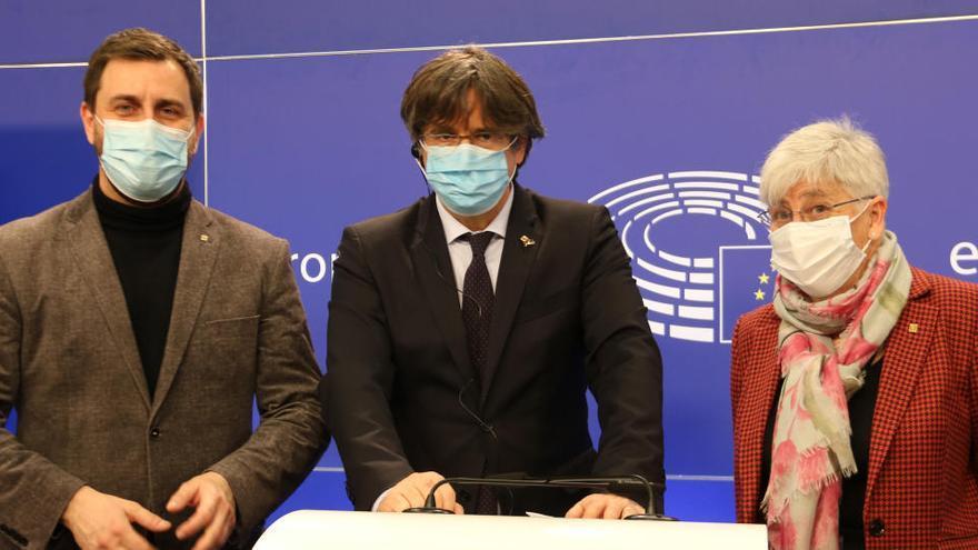El TGUE desestima les cautelars i torna a retirar la immunitat a Puigdemont, Comín i Ponsatí
