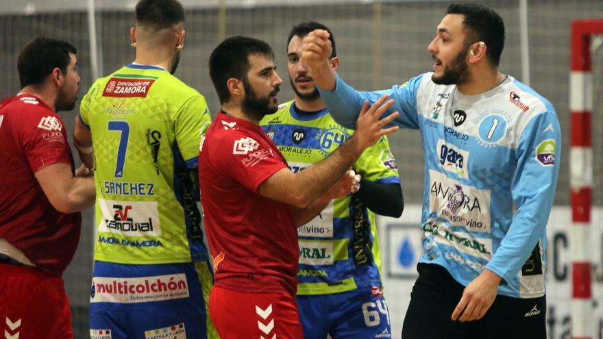 El Balonmano Zamora no pudo dar la sorpresa en Alcobendas