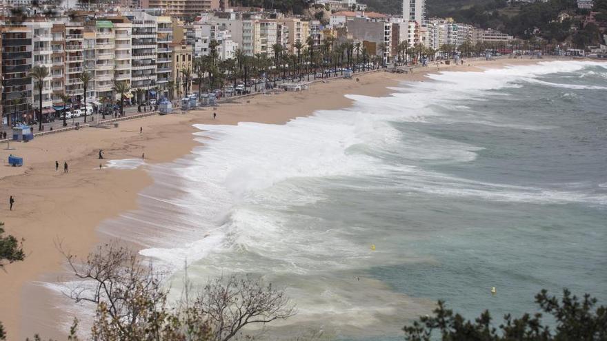 Girona és de les zones que menys inversions reben per estabilitzar les platges