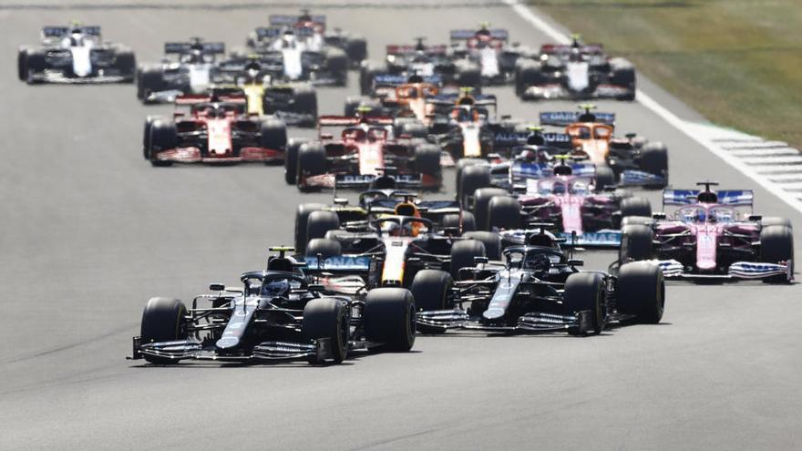 Las imágenes del GP del 70º aniversario de Fórmula 1