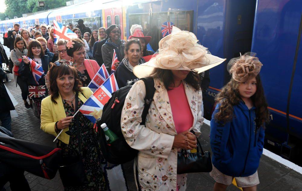 Máxima expectación ante la boda real en Windsor