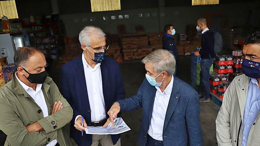 Ejecutan obras por 85.000 euros en el polígono de O Camballón