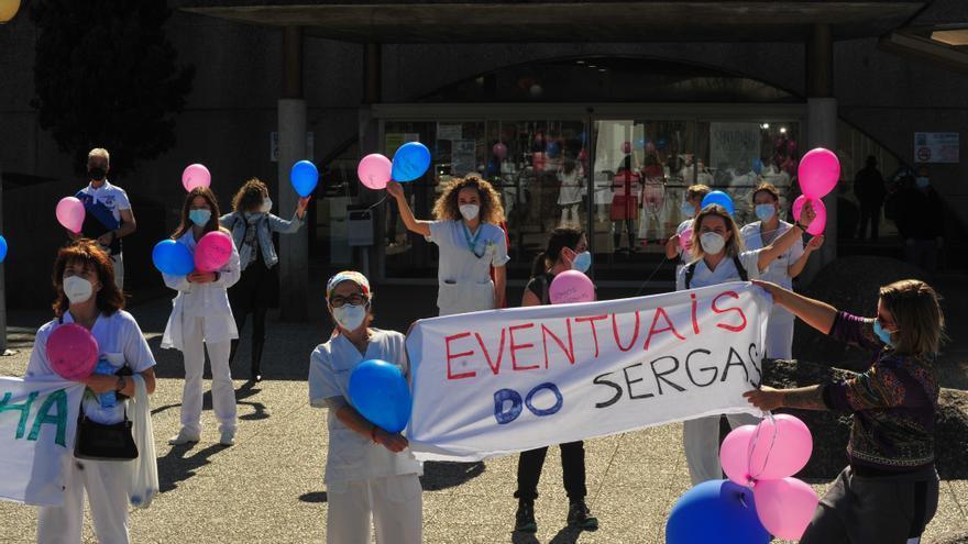 La marcha de médicos del Hospital do Salnés deja Pediatría en la cuerda floja