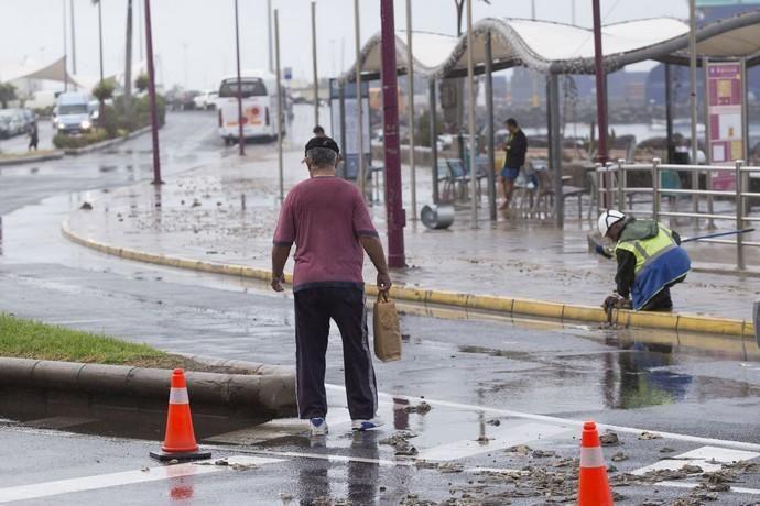 FUERTEVENTURA - LLUVIAS EN FUERTEVENTURA - 01- 12-17
