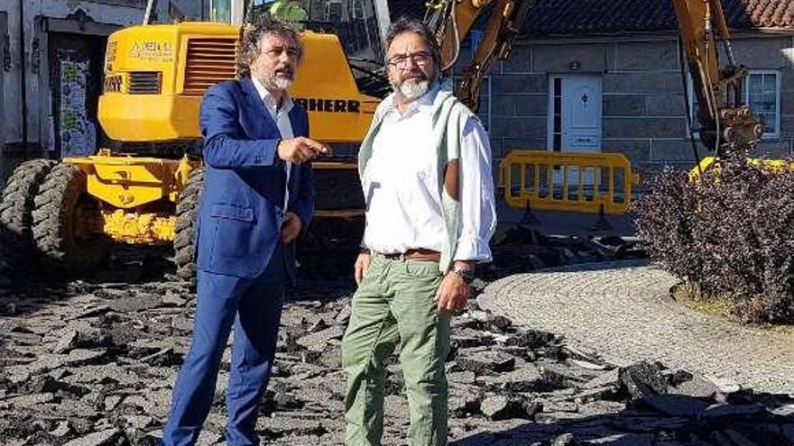 As Neves ejecuta obras para unir el ámbito escolar y el centro con seguridad
