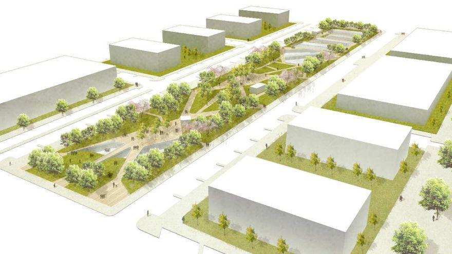 La Junta autoriza 1.250 viviendas en la zona del Amoniaco de Málaga