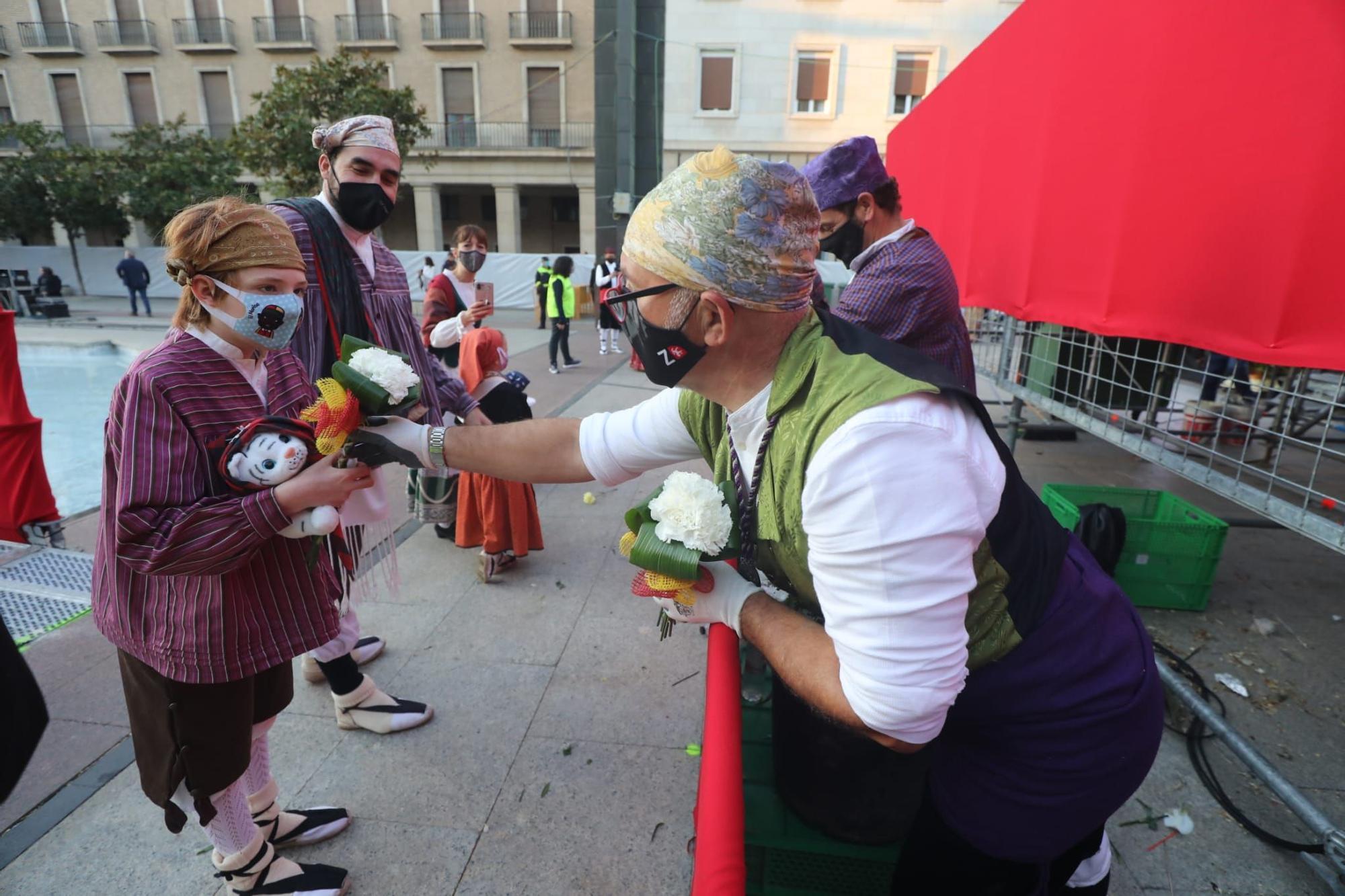 FOTOGALERÍA | La Ofrenda del Flores de estas fiestas del Pilar 2021