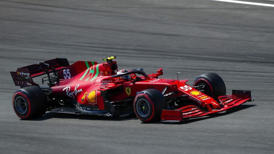 Alonso y Sainz saldrán décimo y sexto en el GP de España