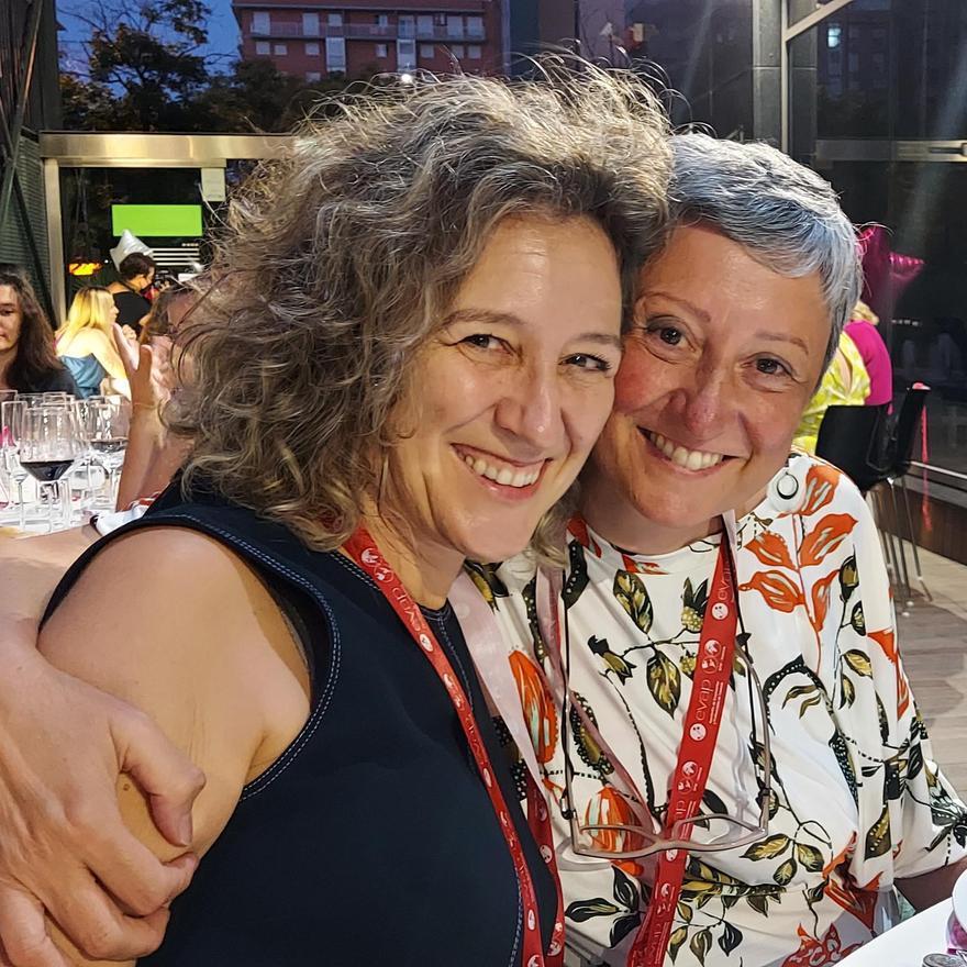 Ana María Julián Edo y Elisa Iniesta Pérez de Gracia, socias fundadoras de Equality Momentum.