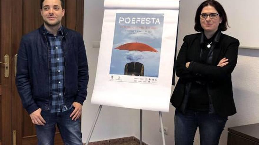 Cartell de pel·lícula en el programa del quinzé aniversari del Poefesta d'Oliva