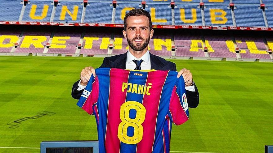 Pjanic: «Jugar al Barça era un somni»