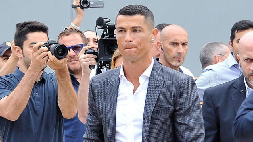 Cristiano, ofrecido al Napoli antes de ir a la Juventus