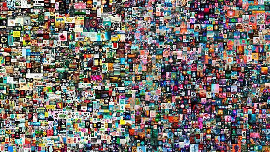 Una obra digital por 58,5 millones