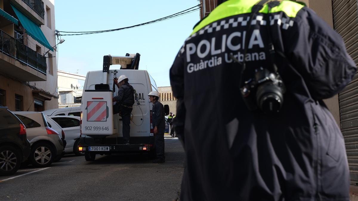Un dels operatius contra el frau elèctric a la zona oest de Figueres