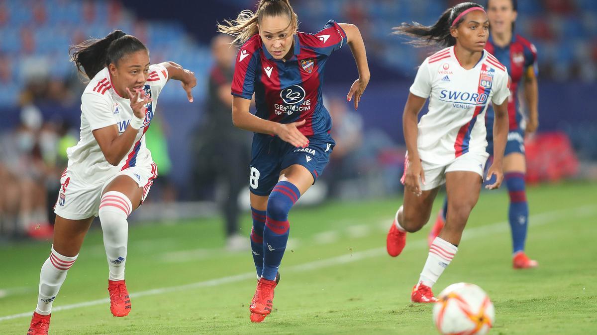 Levante - Lyon, partido femenino