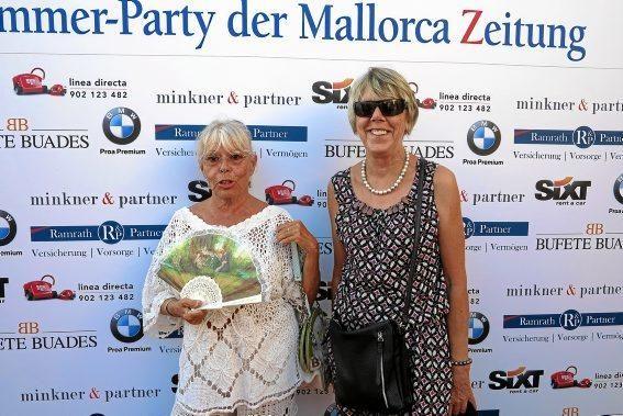 Brigitte von Loefen und Karin Ruckdeschl