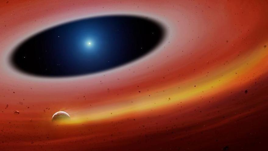 Descubierto un antiguo planeta orbitando alrededor de una enana blanca