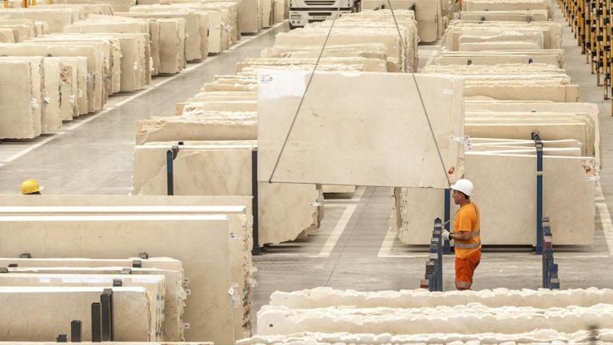 El ERE de Levantina en la cantera de Monte Coto afectará a 106 trabajadores