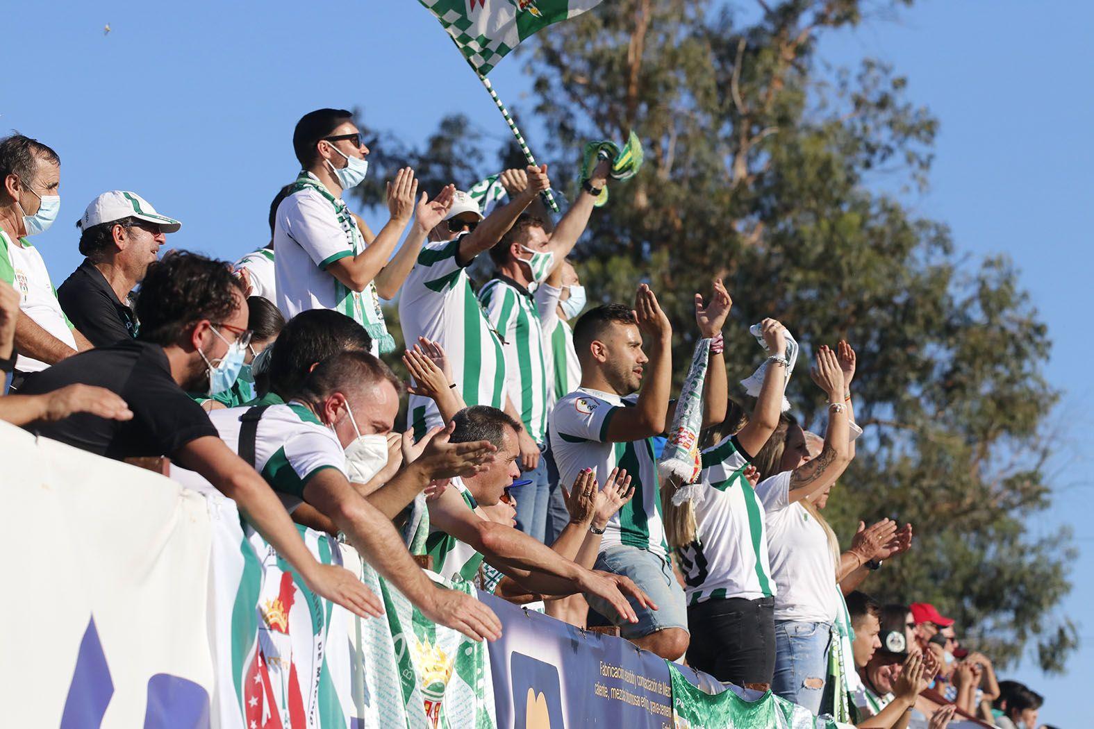 Las imágenes del Córdoba CF-Coria