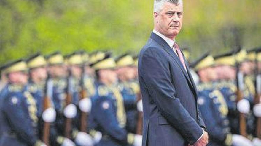 El presidente de Kosovo, acusado de crímenes de guerra