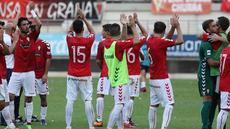 Los debut en Nueva Condomina ponen a temblar al Real Murcia