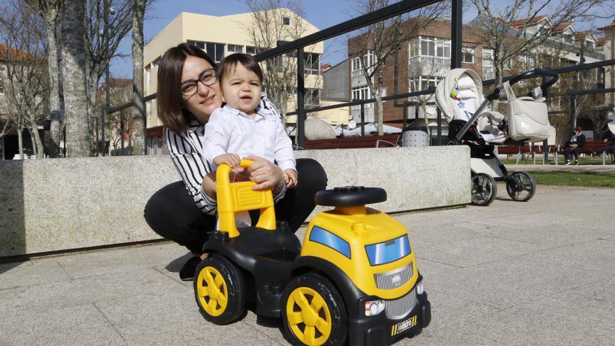 Xabier, el niño que nació cuando la pandemia llegó a Vigo