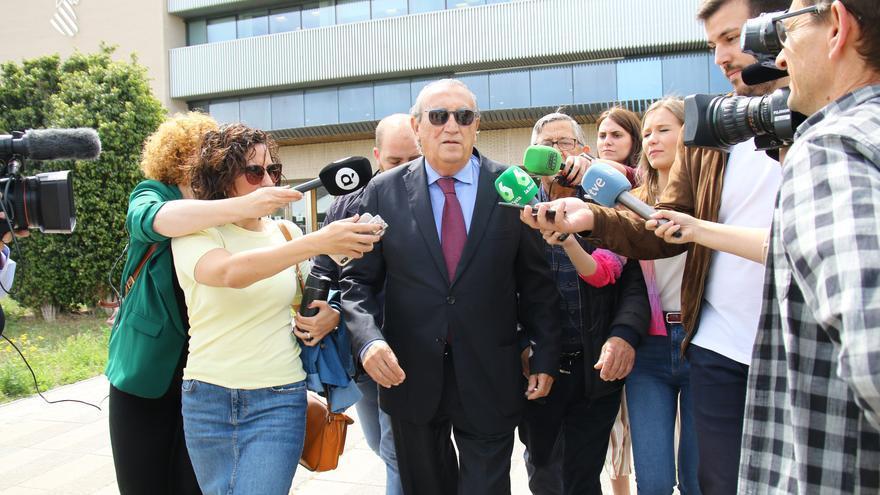 La Fiscalía pide otros 12 años de cárcel para Carlos Fabra por ocultar su patrimonio para no pagar a Hacienda