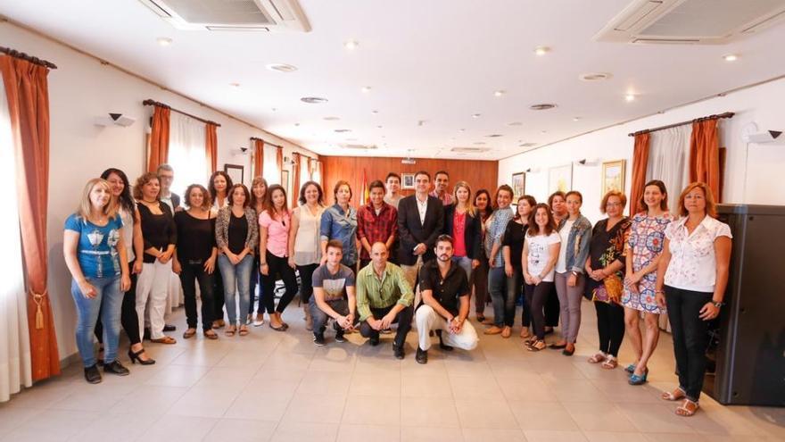 L'Alfàs contrata a 24 alumnos de los Talleres de Formación e Inserción Laboral