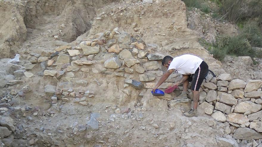 Retoman las excavaciones en el yacimiento de Laderas del Castillo de Callosa