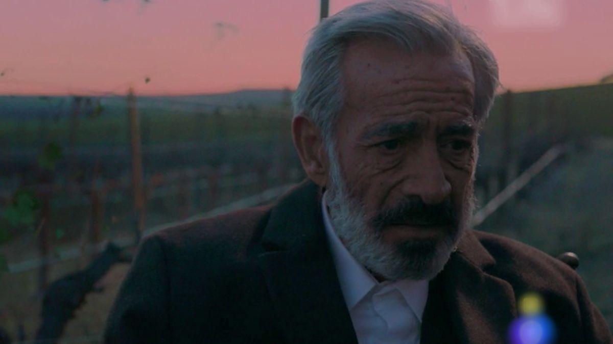 Fotograma del capítol en què mor Antonio Alcántara