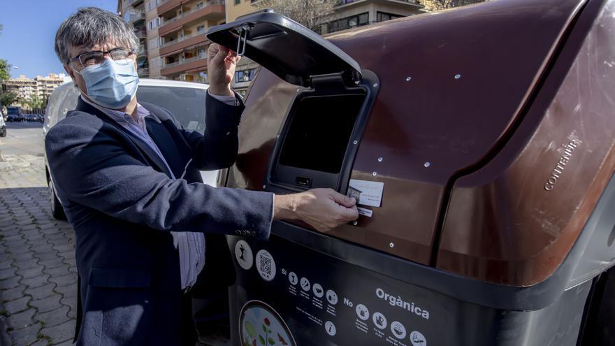 Iniciada la instalación de contenedores de recogida orgánica en otras cinco barriadas de Palma