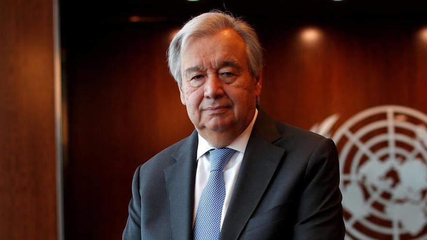 """Guterres: """"Hemos evitado una tercera guerra mundial"""""""