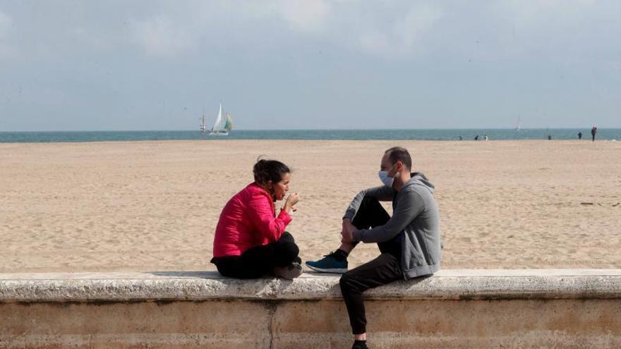 La Comunitat Valenciana inicia una leve reapertura tras reducir los contagios un 90 % en febrero