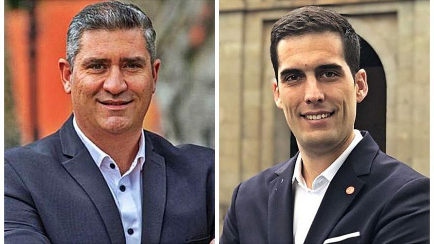 CC carga contra los insultos de Santiago Pérez a su portavoz José Alberto Díaz