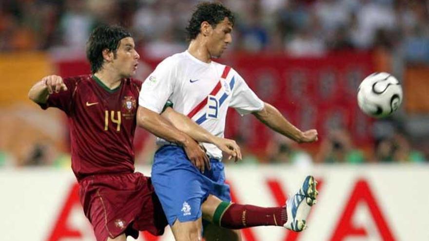 El Portugal-Holanda de 2006, el partido más duro de la historia de los Mundiales