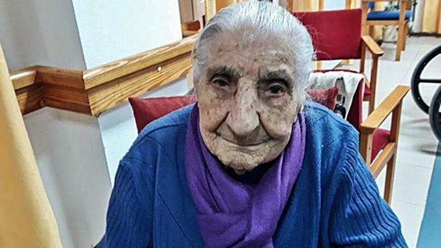 La abuela de la provincia cumple 110 años