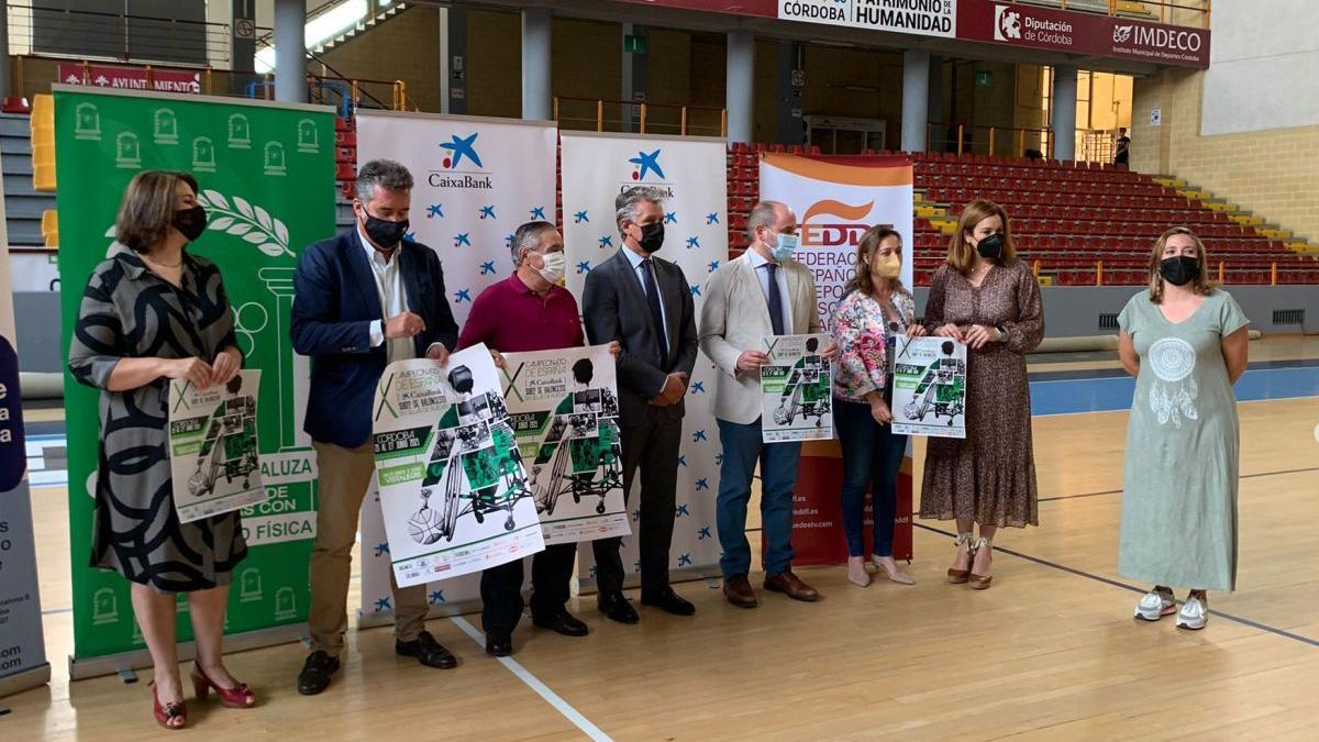 Presentación del Campeonato de España de baloncesto en silla.