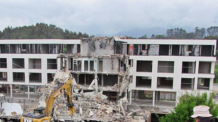 Los dueños del Kaype piden al juez recuperar los 19 millones de su demolición parcial