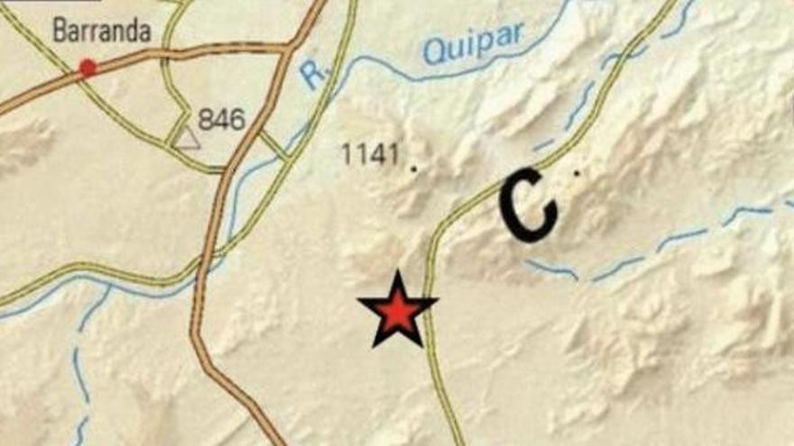 Un terremoto de 3,9 en Murcia se siente en varios municipios