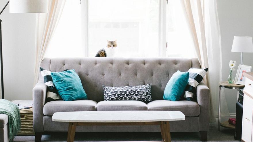 Los mejores productos para eliminar las manchas del sofá para que esté como nuevo