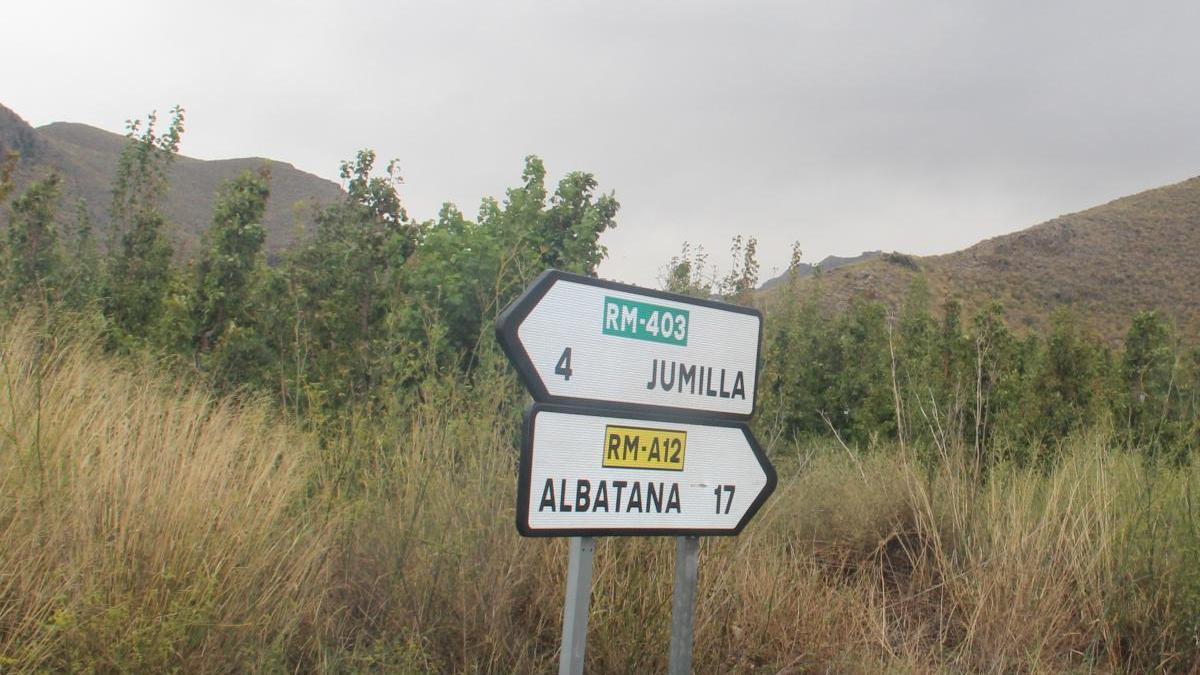La Comunidad reparará las carreteras dañadas en las lluvias torrenciales de 2019 en Jumilla