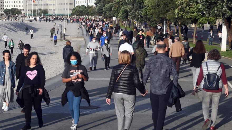 Galicia registra otro repunte de contagios y casos de COVID