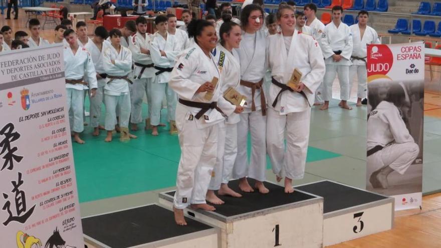 Noa Fernández gana la Copa de España de judo de Valladolid