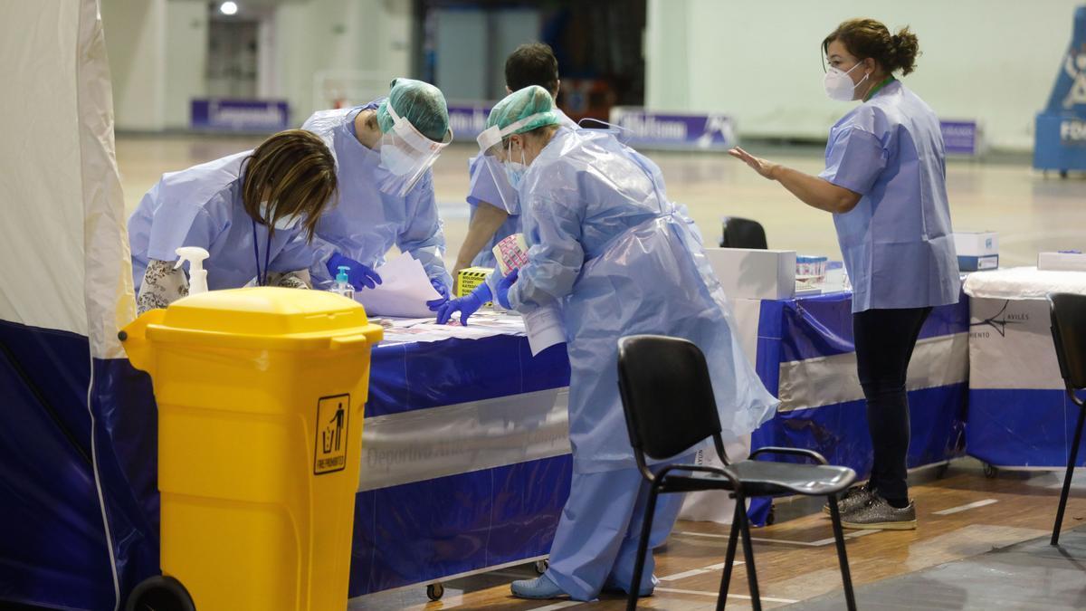 PCR en Asturias.