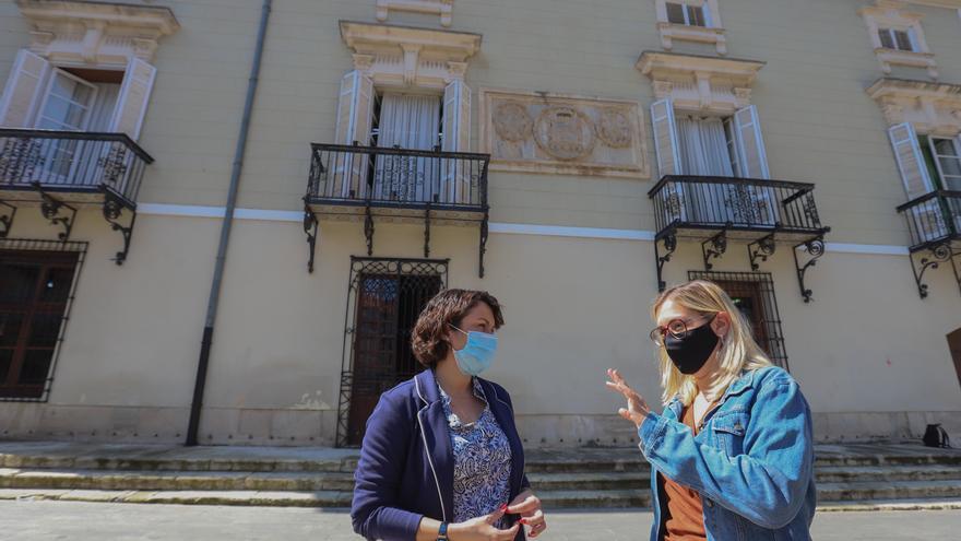 PSOE y Cambiemos denuncian que las obras en el Ayuntamiento les dejan sin despacho