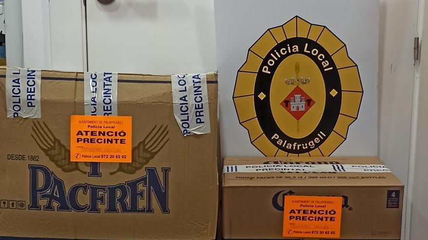 Intervenen prop d'un centenar de productes caducats en supermercats de Palafrugell