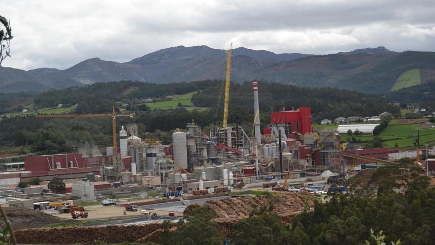 Ence aplaza una inversión de 490 millones en su planta de Asturias