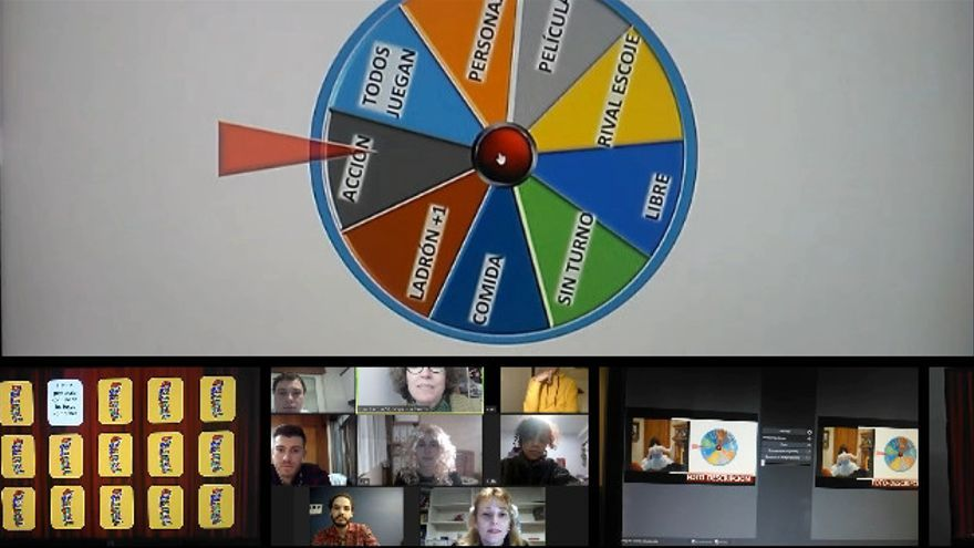 Así son as clases de teatro online da Escola Municipal de Vigo